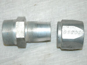 Reusable Hydraulic Hose Fitting 1106 24 1 1 2 Male Pipe