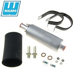 Genuine Walbro Gsl391 Efi Fuel Pump 190lph External Inline Hfp Install Fittings