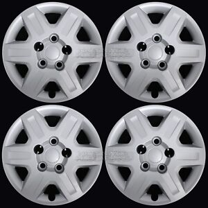4 New 2008 2016 Dodge Caravan Journey 16 Bolt On Hub Caps Rim Full Wheel Covers