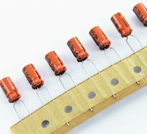 245 Assorted Radial Electrolytic Capacitors Kit For Prototyping Hobbyists