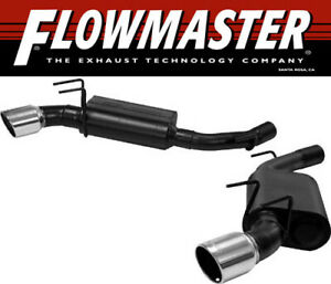 Flowmaster 817506 2010 2013 Chevy Camaro Ss 6 2l Force Ii Axle back Exhaust