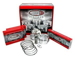 Cp Carrillo Bc1021 030 Small Block Chevy 355 Forged Pistons Flat Top 4 030 Qty 8