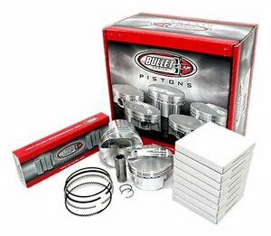 Cp Carrillo Bf6060 030 Small Block Ford 408 Forged Pistons Flat Top 4 030 Qty 8