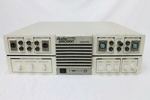 Audio Precision System One Sys22a Audio Analyzer 0 0007