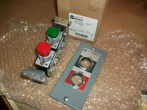 Allen Bradley 800h Heavy Duty Enclosure Panel 800h 2ah Ser M 2 Push Button
