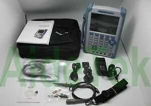 Hantek Dso1200 Hand Held Scope Multimeter Function Ganarator 200mhz 2 Chs