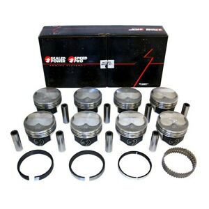 Speed Pro H635p40 Chevy 383 200 Dome Pistons 5 7 Rod Fmp Moly Rings 040 Sbc