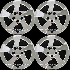 2010 2012 Chrome Prius 15 Wheel Covers Hub Caps 5 Spoke Full Rim Skins Lug Hubs