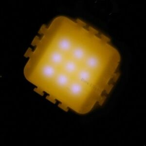 5 Pcs Super Bright 10w Warm White High Power Led Smd Chip Panel 900lm Buld