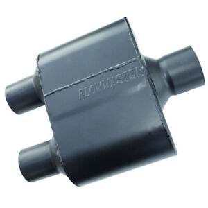 Flowmaster 8430152 Super 10 Muffler 3 Center Inlet 2 5 Dual Outlet