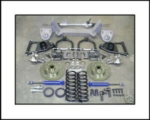 1949 50 51 52 53 54 Chevy Car Mustang Ii Ifs Front End Suspension Chrome Manual