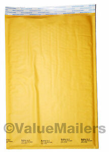 200 5 10 5x16 Bubble Lite Kraft Bubble Mailers Padded Envelopes Bags