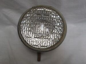 Vintage Dietz 9 50 General Electric Clear Spot Light Fog Light Made In Usa