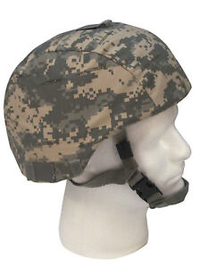 MICH Military Helmet Cover ACU Digital Camo Army Adjustable Rothco 9651