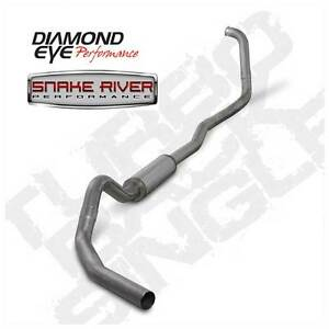Diamond Eye 4 Exhaust 03 07 Ford Powerstroke Diesel 6 0l Stainless Auto Only