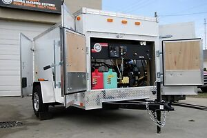 Hot Water Pressure Washer Trailer Pressure Washer Enclosed Trailer Washer