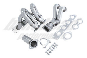 Manzo Performance Stainless Header 2002 2004 Chevrolet Cavalier 2 2l Ecotec