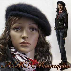 Amt Female Mannequins Mannequin metal Stand Full Body Manikin cf11 2wigs