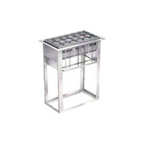 Lakeside Stainless Steel Cup And Glass Rack Dispenser 973
