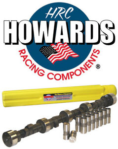 Howards Cams Cl112041 09 Sbc Chevy 350 Hydraulic Camshaft Kit Lifters 510 510