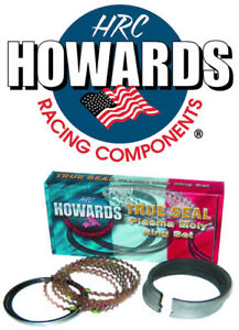 Howards Cams Sbc Chevy Piston Rings Plasma Moly 1 16 1 16 3 16 4 160 File Fit