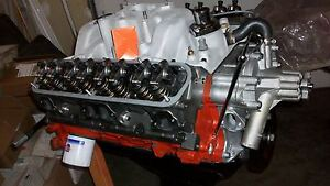 Mopar Dodge 360 Built Engine Long Block New E q Iron Heads la Int Man