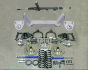 1949 50 51 52 53 54 Chevy Car Mustang Ii Ifs Front End Kit Suspension Power