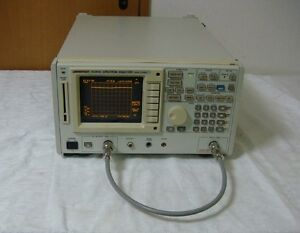 Advantest R3361c 9khz 2 6ghz Spectrum Analyzer With Tg