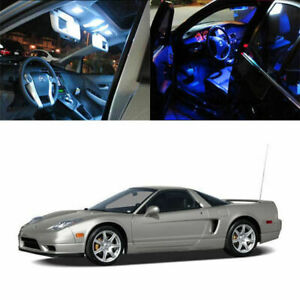 8 light Smd Full Led Interior Lights Package Deal For 1998 2005 Acura Nsx