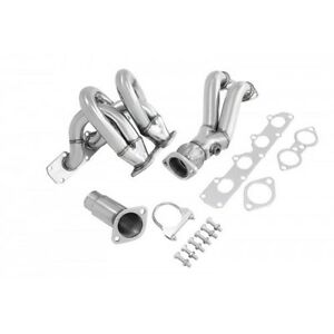 Manzo Stainless Steel Exhaust Header Fits Chevrolet Cavalier 02 04 2 2l Ecotec