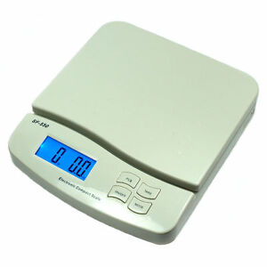 55 Lb X 0 1 Oz 25 Kg X 1g Digital Postal Scale Shipping Scale Sf 550 White
