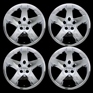 4 For Dodge Charger Challenger 2008 2011 Chrome 17 Wheel Skins Hub Caps Covers