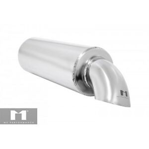 Manzo Performance Universal Type Muffler Turndown Dropdown Style Tip 2 Racing