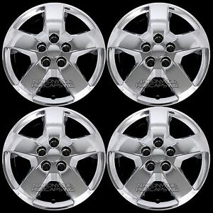 06 11 Fits Chevrolet Hhr Malibu G5 16 Chrome Bolt On Wheel Covers Rim Hub Caps