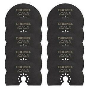 10 New Dremel Multi Max Mm450 3 Wood Dryall Cutting Saw Blade