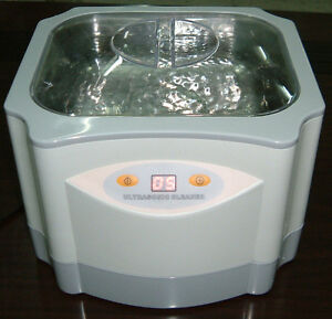 New Large Digital 60w 1 4 Liter Ultrasonic Cleaner Jewelry Jw3
