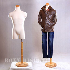 Male Mannequin Manequin Manikin Dress Form 33mleg01 bs r01n