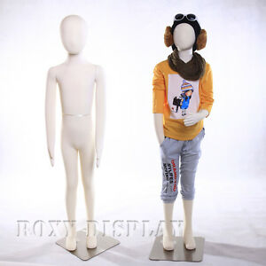 Full Body Jersey Covered Flexible Children Mannequin Dress Form Display ch09t