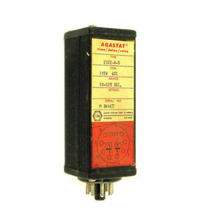 Agastat Time Delay Relay 2122 a 5