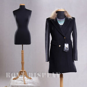 Female Size 10 12 Mannequin Manequin Manikin Dress Form f10 12bk bs 01nx