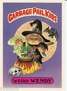1986 TOPPS GARBAGE PAIL KIDS 1ST SERIES GIANT #16 WEIRD WENDY NM CONDITION GPK $3.99