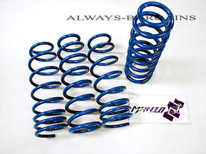 Manzo Lowering Coil Springs Fits Acura Rsx 05 06 Base Type s Coupe 2 door