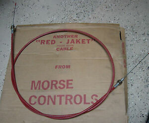Morse Red Jacket Cable Cadillac Gage 40 50 Turret Brake 42657 72 In 5903 5 64