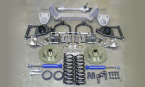 1955 1959 Chevy Truck Mustang Ii 2 Front Suspension Manual Rack Stock Spindle