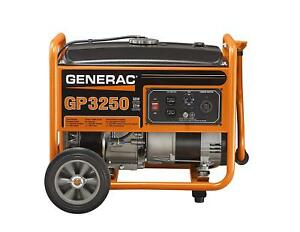Generac Portable Generator Gp Series 3250 Watts Generac Engine 5982