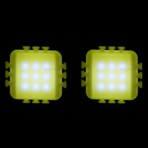 10 Pcs 10w White High Power Led Light Panel Smd Chip Lamp Buld 900lm Diy