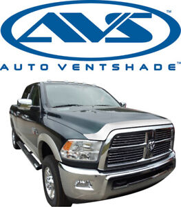 Avs 622051 Aeroskin Bug Shield Chrome Hood Protector 2010 16 Dodge Ram 2500 3500
