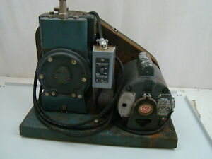 Welch Duo Seal Belt Drive Vacuum Pump Model 1405