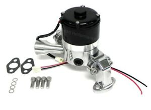 Assault Racing Chrome Electric Water Pump Small Block Chevy 327 350 383 400 Sbc