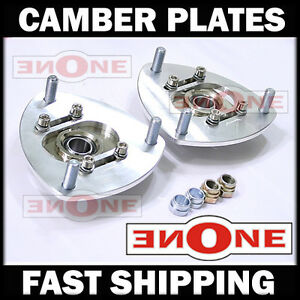 Mk1 Front Camber Plate Plates Strut Mount 01 05 Civic For Coilover Kits
